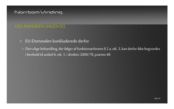 Ole Andersen-sagen