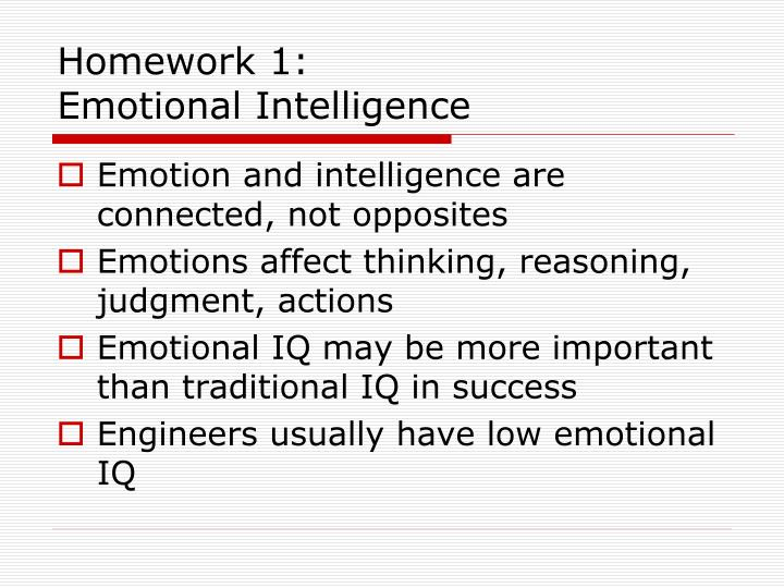Homework 1: