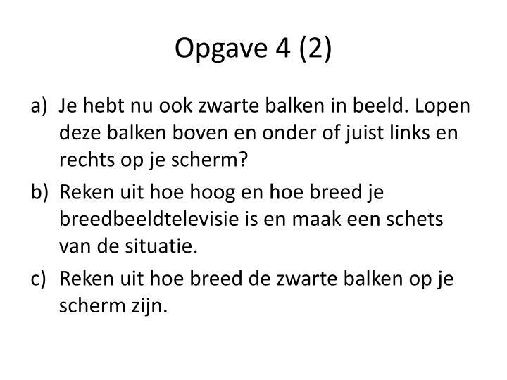 Opgave 4 (2)