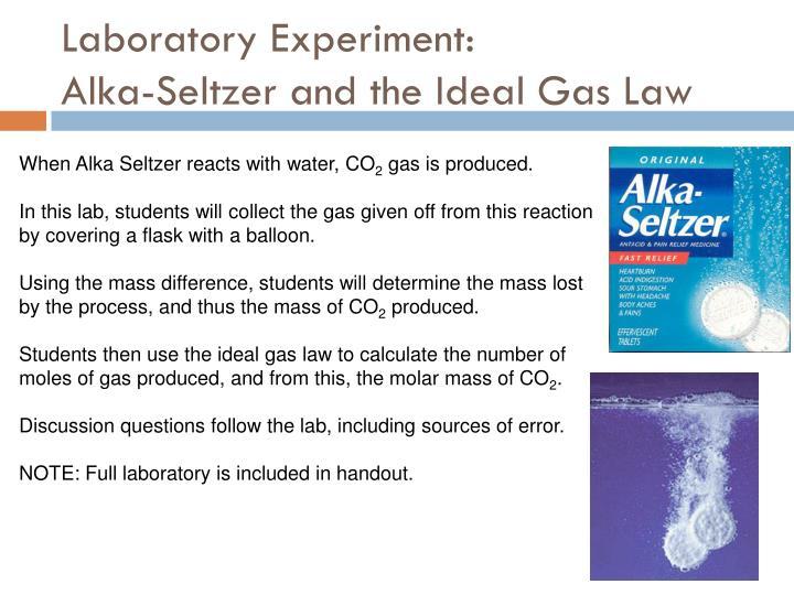 Laboratory Experiment: