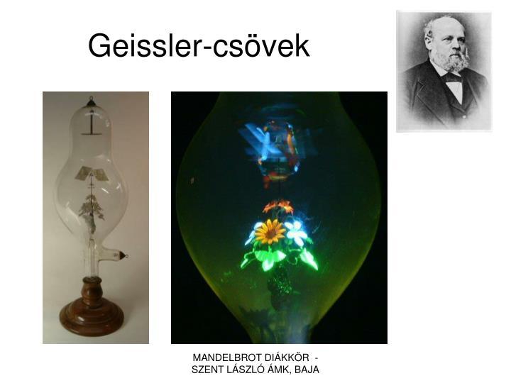 Geissler-csövek