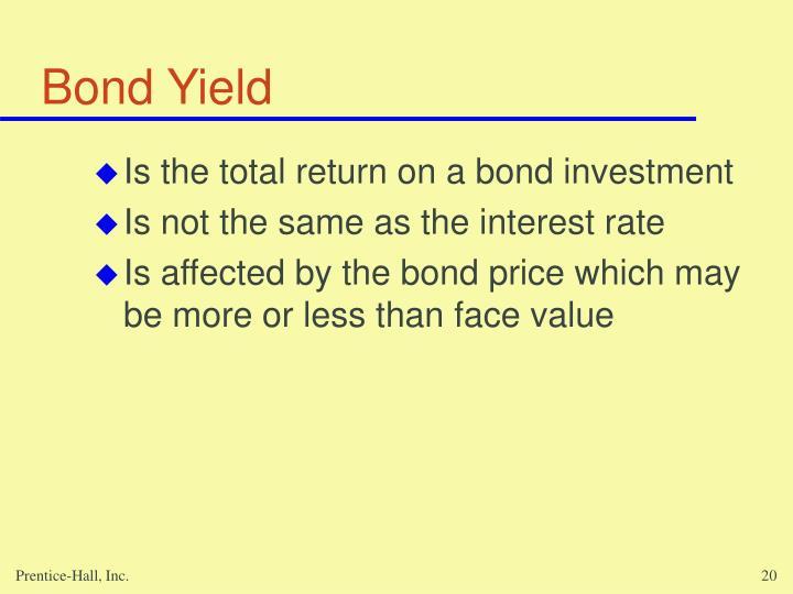 Bond Yield