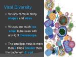 viral diversity
