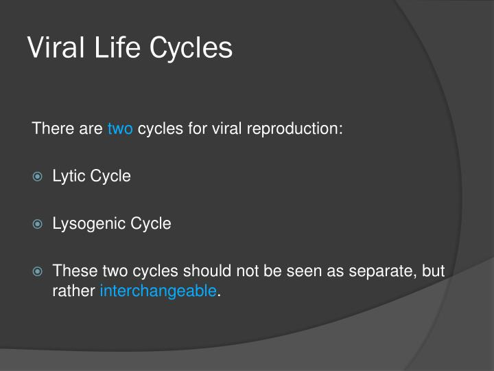 Viral Life Cycles