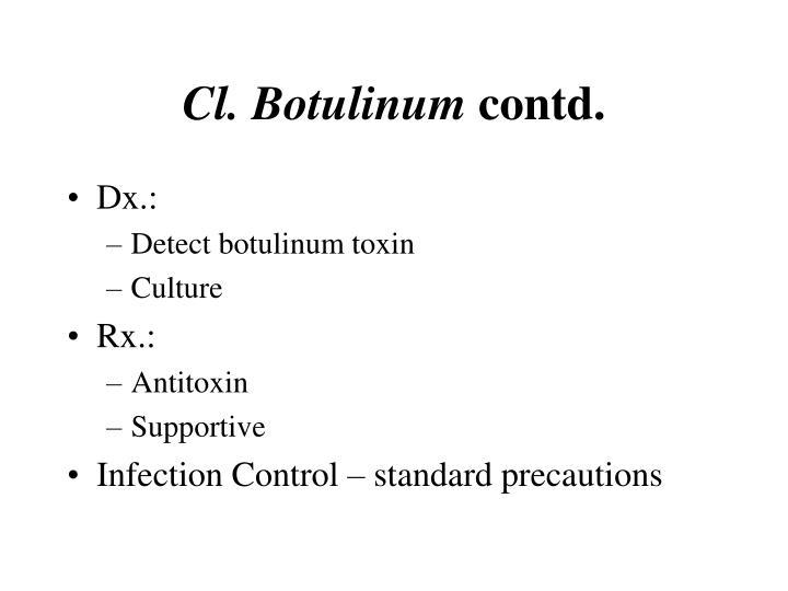 Cl. Botulinum