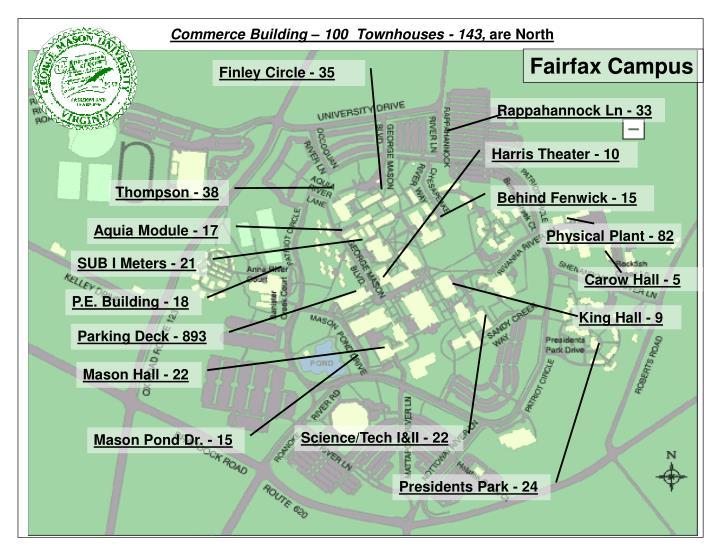 Commerce Building – 100  Townhouses - 143,