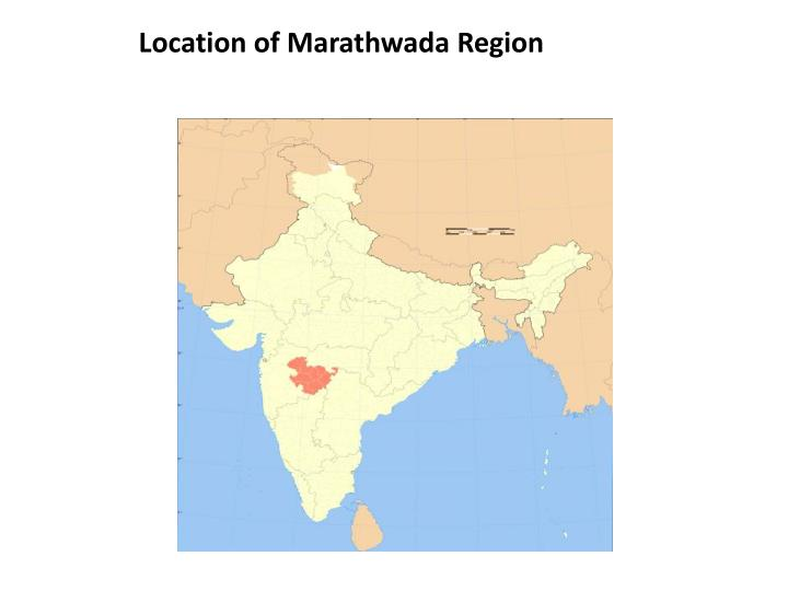 Location of Marathwada Region