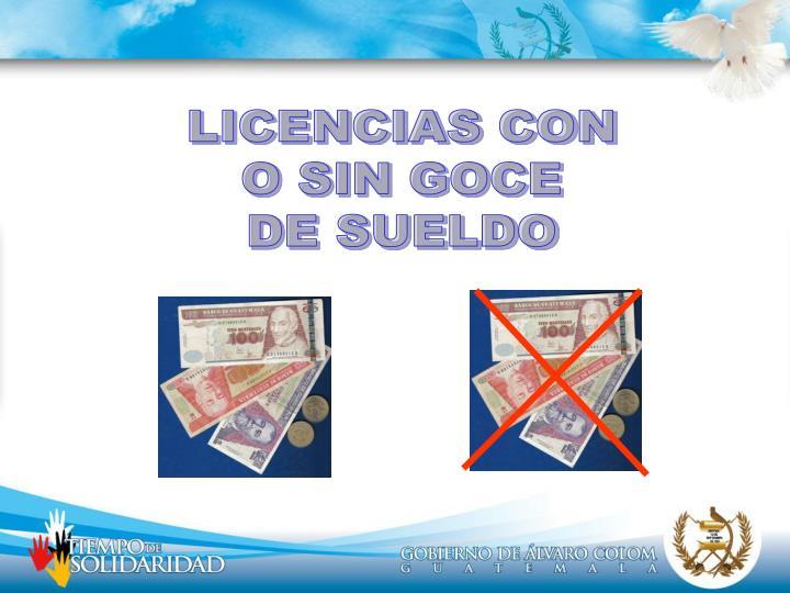 LICENCIAS CON