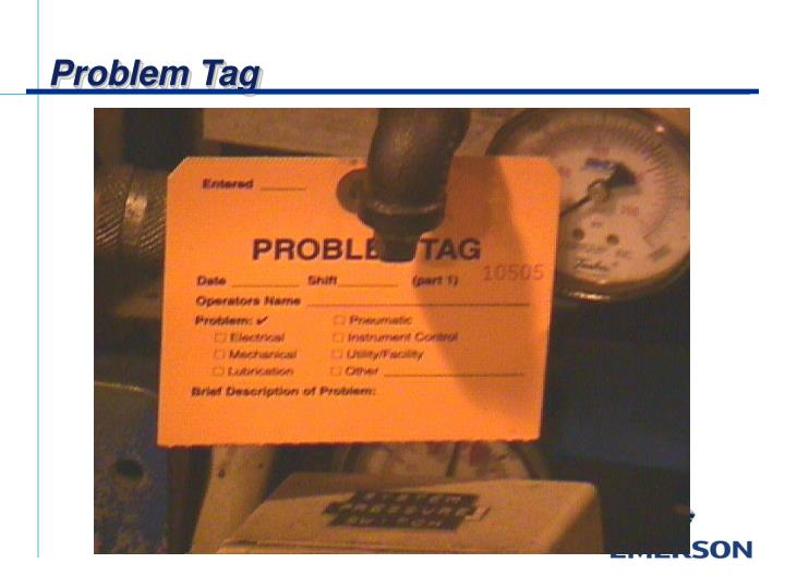Problem Tag