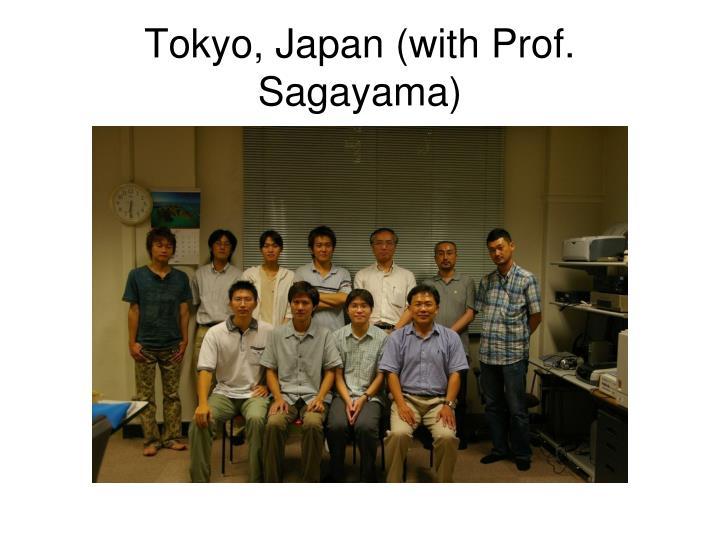 Tokyo, Japan (with Prof. Sagayama)