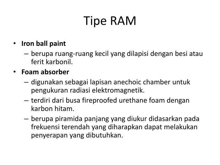 Tipe RAM