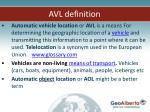 avl definition