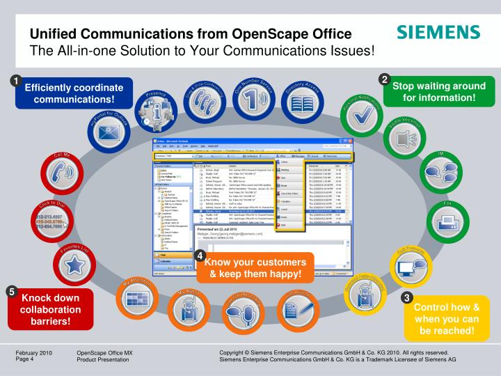 Unified Communications from OpenScape Office