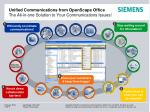 unified communications from openscape office the all in one solution to your communications issues