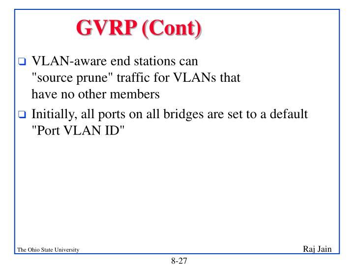 GVRP (Cont)
