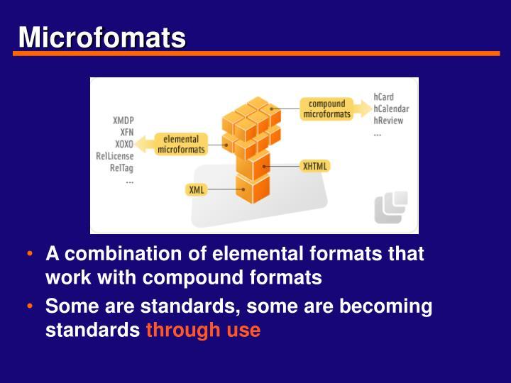 Microfomats