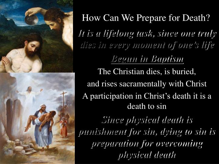 How Can We Prepare for Death?