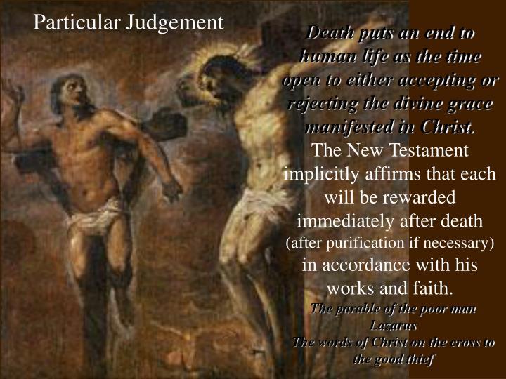 Particular Judgement