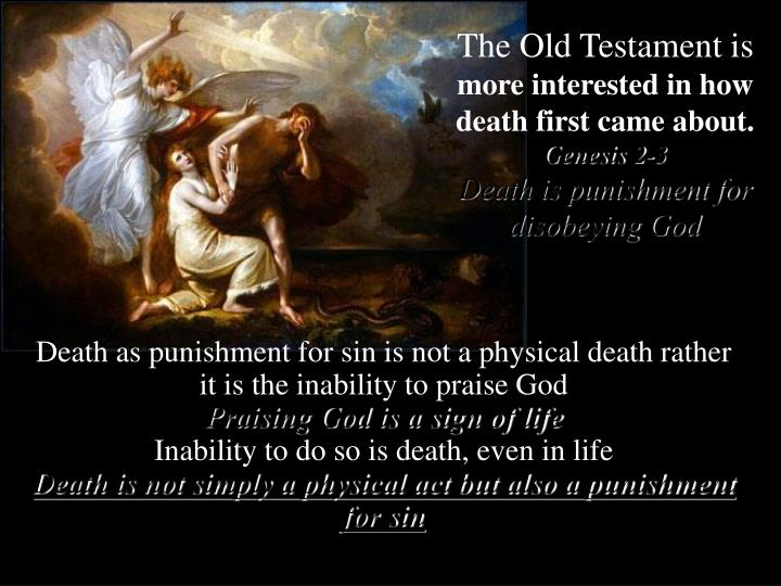The Old Testament is