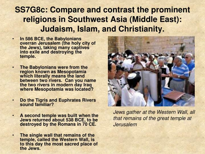 compare contrast essay christianity vs islam Islam: in particular, christianity essays comparing judaism and islam essays, religion, compare and contrast islam and christianity religion essay _b_essay_/b_.