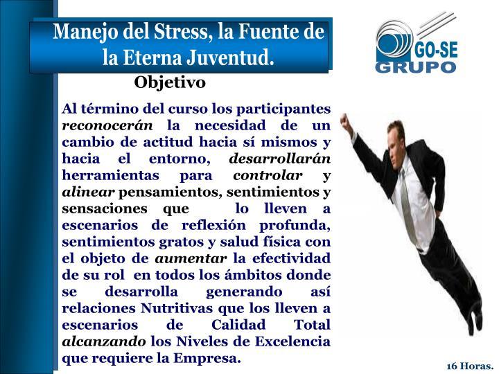 Manejo del Stress, la Fuente de