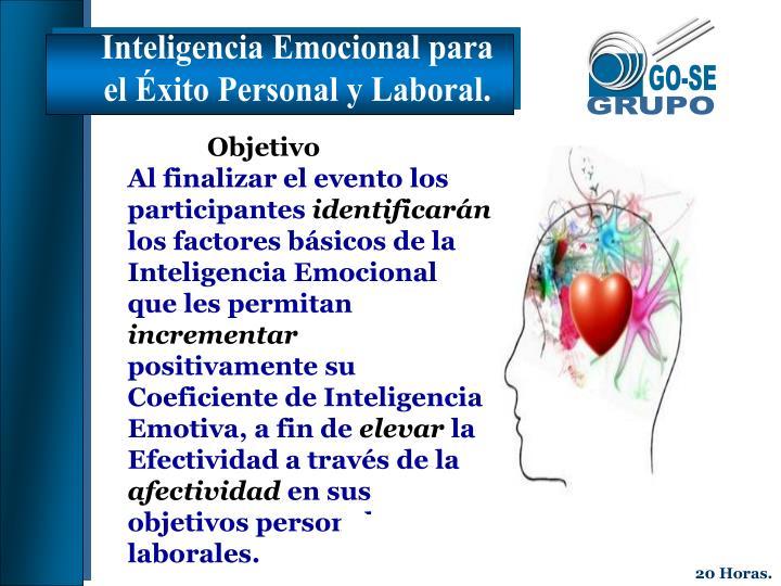 Inteligencia Emocional para