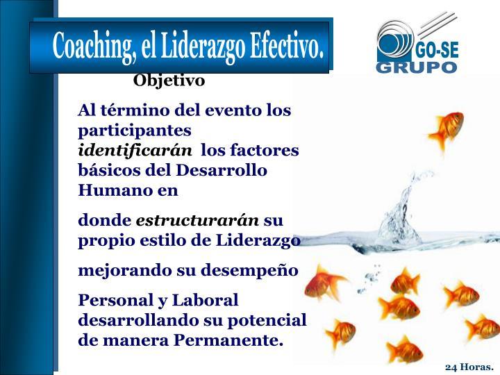 Coaching, el Liderazgo Efectivo.