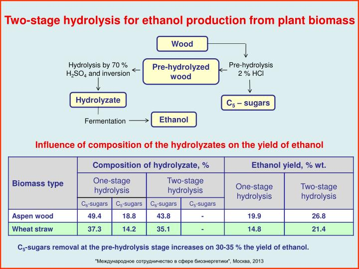 Two-stage hydrolysis for ethanol production from plant biomass