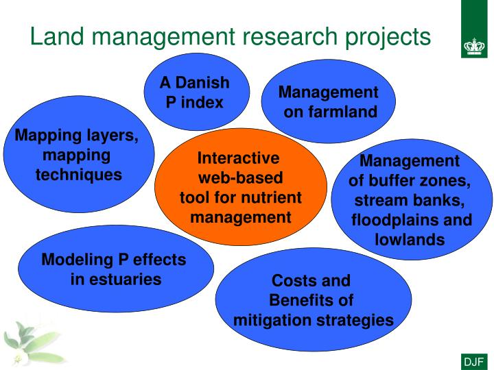 Land management research projects