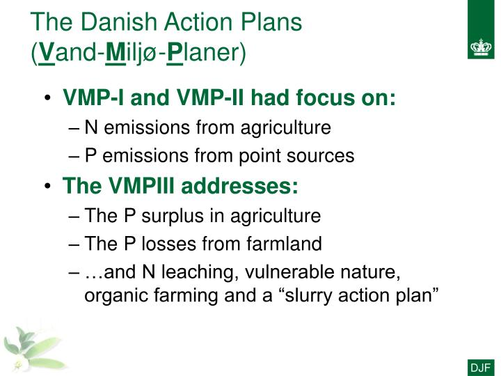 The Danish Action Plans