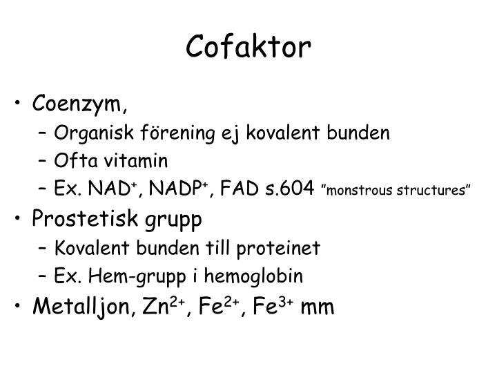 Cofaktor