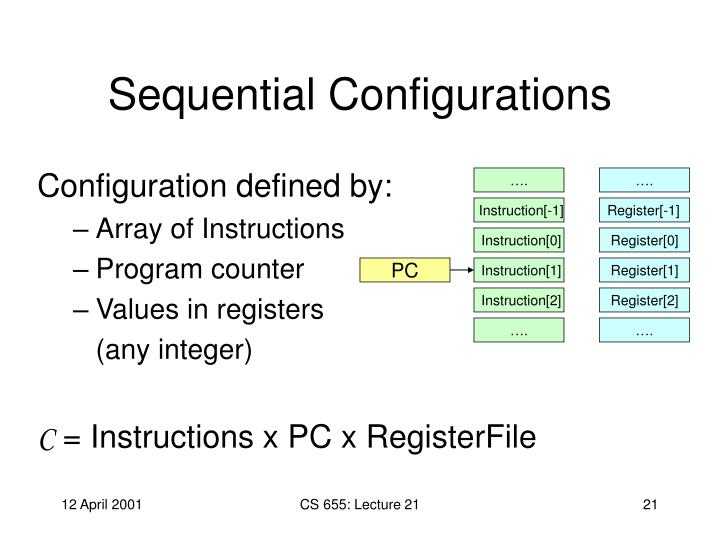 Sequential Configurations