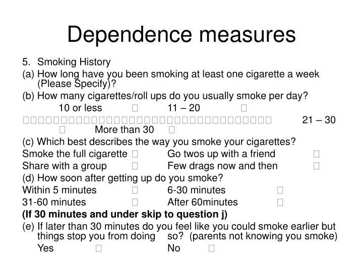 Dependence measures