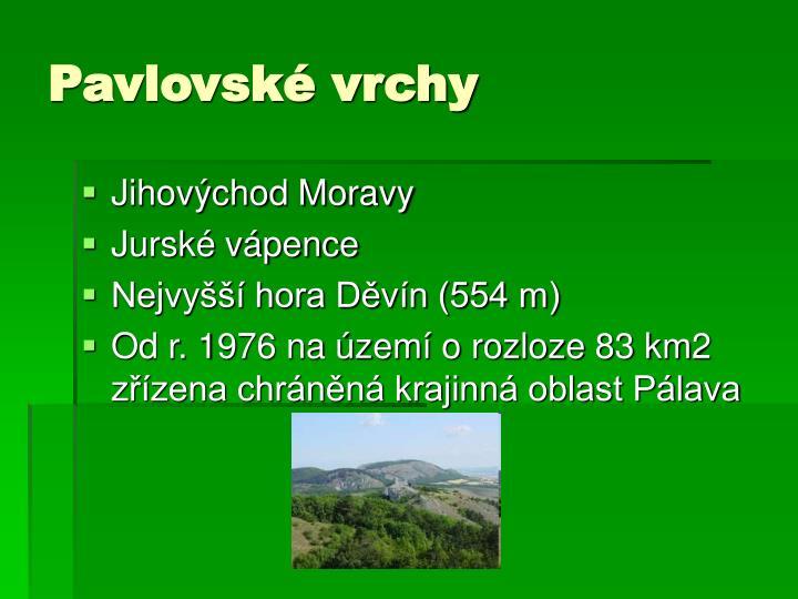 Pavlovské vrchy