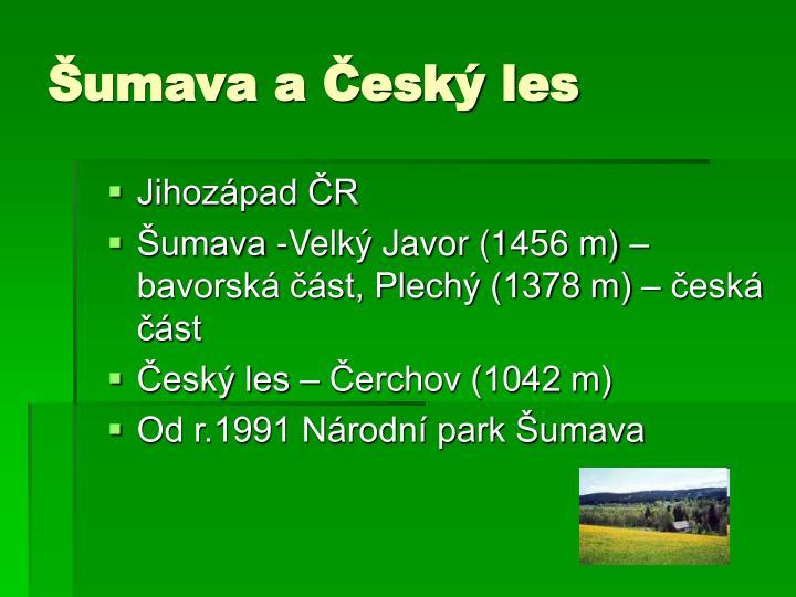 Jihozápad ČR
