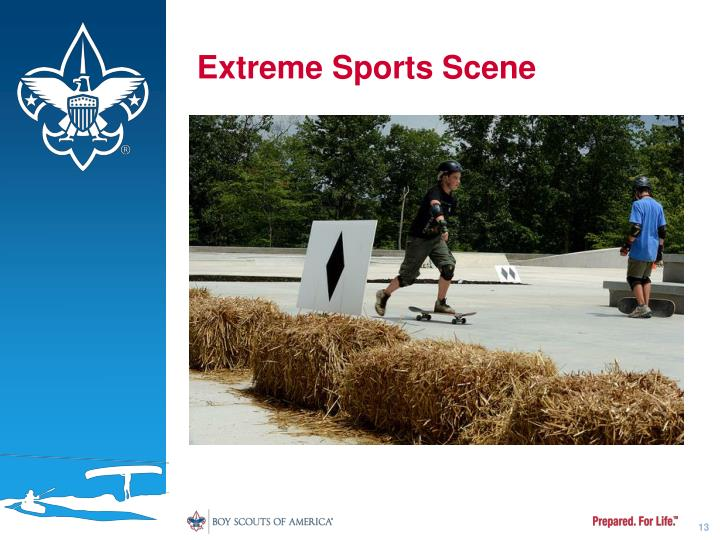Extreme Sports Scene