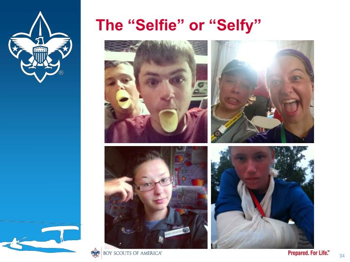 "The ""Selfie"" or ""Selfy"""