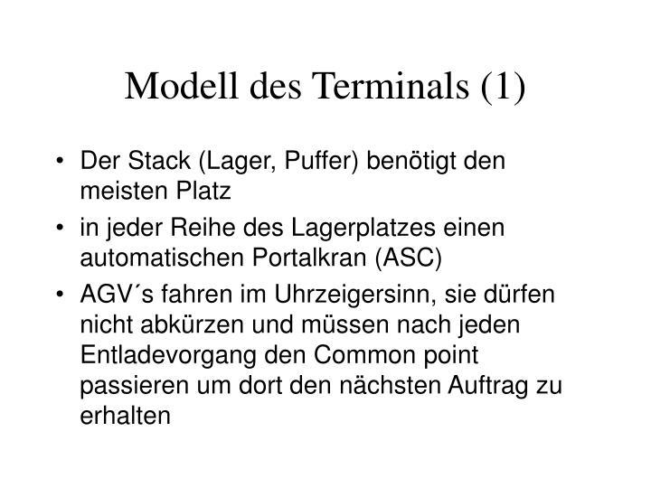 Modell des Terminals (1)