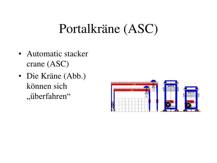 Portalkräne (ASC)