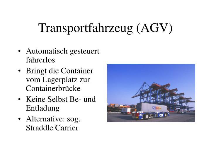 Transportfahrzeug (AGV)