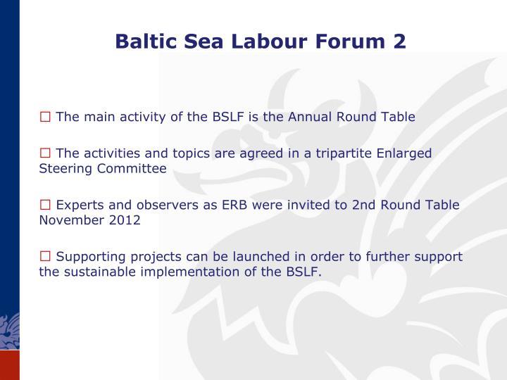 Baltic Sea Labour