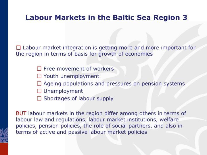 Labour Markets in the Baltic Sea Region