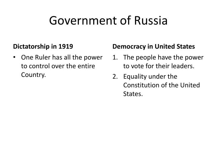Government of Russia