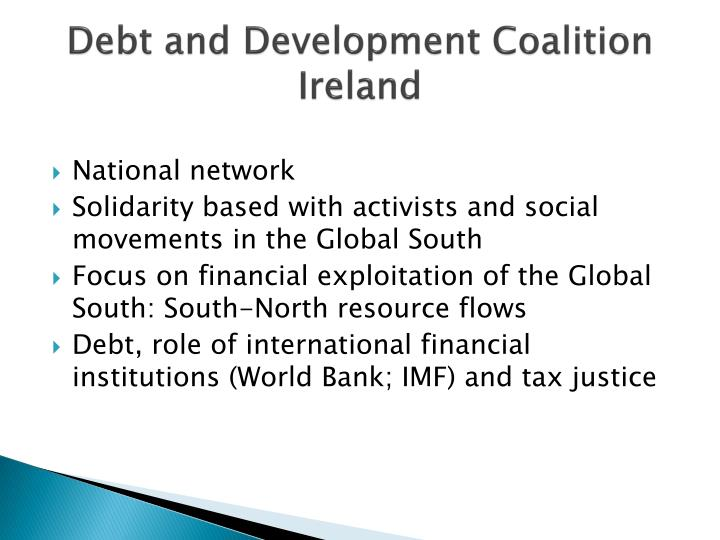 Debt and development coalition ireland