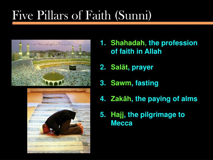 Five Pillars of Faith (Sunni)