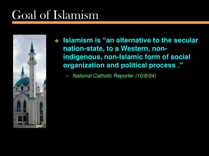 Goal of Islamism