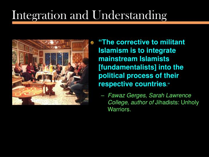 Integration and Understanding
