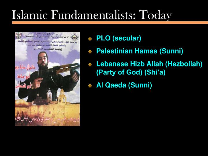 Islamic Fundamentalists: Today