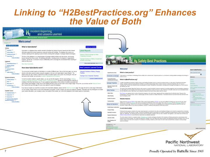 "Linking to ""H2BestPractices.org"" Enhances the Value of Both"