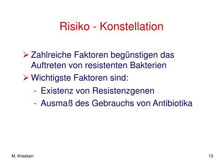 Risiko - Konstellation